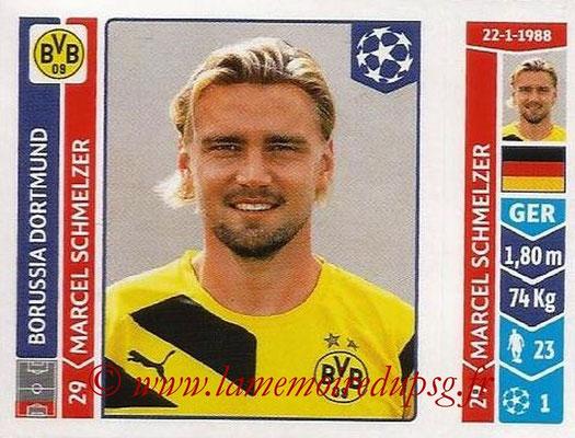 2014-15 - Panini Champions League N° 275 - Marcel SCHMELZER (Borussia Dortmund)
