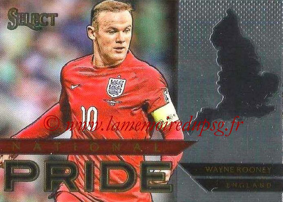 2015 - Panini Select Soccer - N° NP16 - Wayne ROONEY (Angleterre) (National Pride)