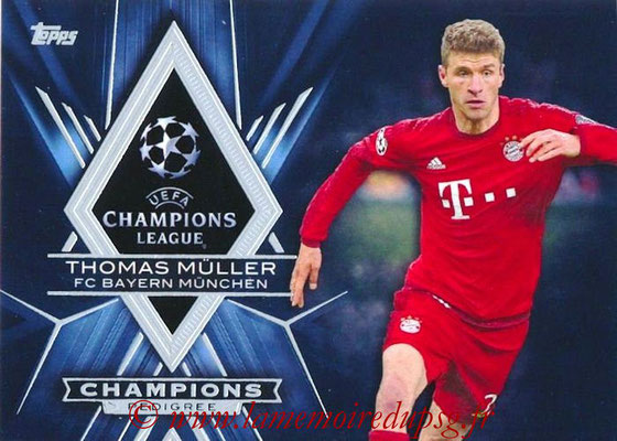2015-16 - Topps UEFA Champions League Showcase Soccer - N° CP-TM - Thomas MÜLLER (FC Bayern Munich) (Champions Pedigree)