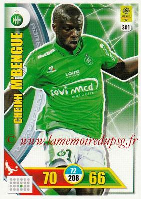 2017-18 - Panini Adrenalyn XL Ligue 1 - N° 301 - Cheikh M'BENGUE (Saint-Etienne)