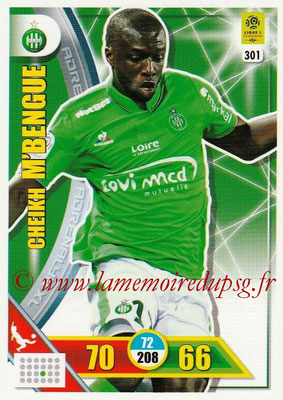 2017-18 - Panini Adrenalyn XL Ligue 1 - N° 301 - Cheikh M'BENGUE (Saint-Etienne)
