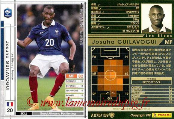 2015-16 - Panini WCCF - N° A075 - Josuha GUILAVOGUI (France)