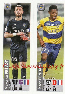 2018-19 - Panini Ligue 1 Stickers 2018-19 - Panini Ligue 1 Stickers - N° 556 - Maxence PR- N° 556 2018-19 - Panini Ligue 1 Stickers - N° 556 - Maxence PREVOT + Jason PENDANT (FC Sochaux-Montbeliard)- Maxence PREVOT + Jason PENDANT (FC Sochaux-Montbeliard)