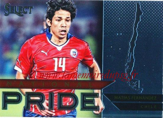 2015 - Panini Select Soccer - N° NP09 - Matias FERNANDEZ (Chili) (National Pride)