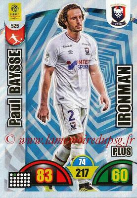 2018-19 - Panini Adrenalyn XL Ligue 1 - N° 525 - Paul BAYSE (Caen) (Ironman Plus)