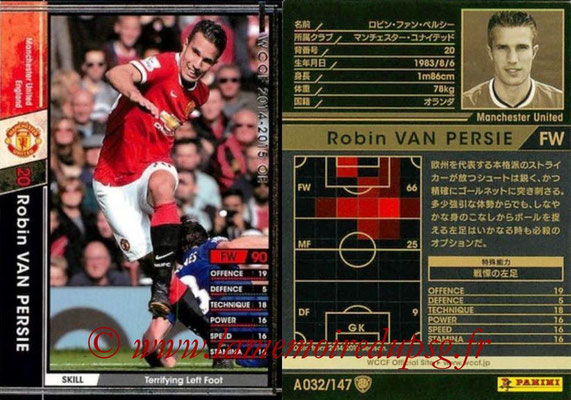2014-15 - WCCF - N° A032 - Robin VAN PERSIE (Manchester United FC)