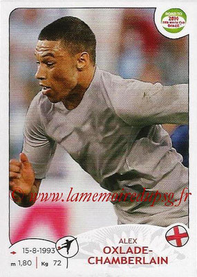2014 - Panini Road to FIFA World Cup Brazil Stickers - N° 123 - Alex OXLADE-CHAMBERLAIN (Angleterre)