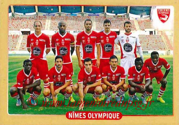 2015-16 - Panini Ligue 1 Stickers - N° 508 - Equipe Nîmes Olympique