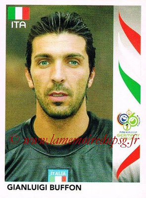 2006 - Panini FIFA World Cup Germany Stickers - N° 323 - Gianluigi BUFFON (Italie)