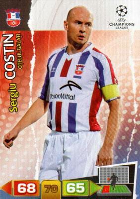 2011-12 - Panini Champions League Cards - N° 205 - Sergiu COSTIN (FC Otelul Galati)