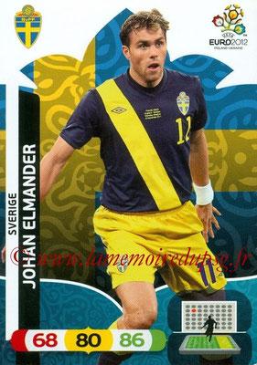 Panini Euro 2012 Cards Adrenalyn XL - N° 212 - Johan ELMANDER (Suède)