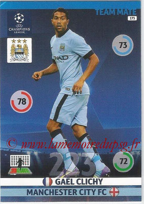 2014-15 - Adrenalyn XL champions League N° 173 - Gael CLICHY (Manchester City FC)