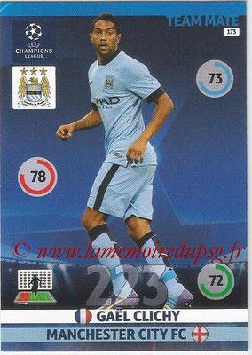 2014-15 - Adrenalyn XL champions League N° 173 - Gael CLICHY (Manchester City FC)