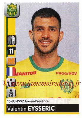 2018-19 - Panini Ligue 1 Stickers - N° T26 - Valentin EYSSERIC (Nantes) (Transfert)