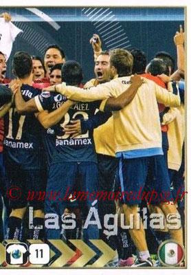 2015-16 - Panini FIFA 365 Stickers - N° 628 - Equipe Club America 2
