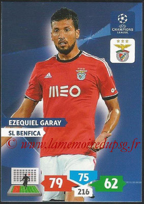 2013-14 - Adrenalyn XL champions League N° 093 - Ezequiel GARAY (SL Benfica)