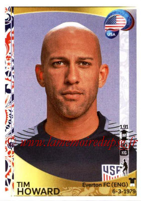 Panini Copa America Centenario USA 2016 Stickers - N° 017 - Tim HOWARD (USA)