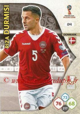2018 - Panini FIFA World Cup Russia Adrenalyn XL - N° 084 - Riza DURMISI (Danemark)