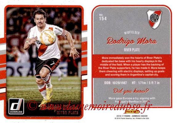 2016 - Panini Donruss Cards - N° 154 - Rodrigo MORA (River Plate)