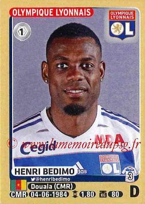 2015-16 - Panini Ligue 1 Stickers - N° 196 - Henri BEDIMO (Olympique Lyonnais)