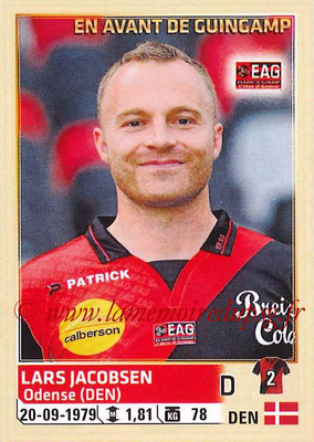 2014-15 - Panini Ligue 1 Stickers - N° 104 - Lars JACOBSEN (EA Guingamp)