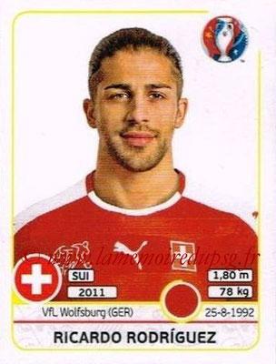 Panini Euro 2016 Stickers - N° 108 - Ricardo RODRIGUEZ (Suisse)