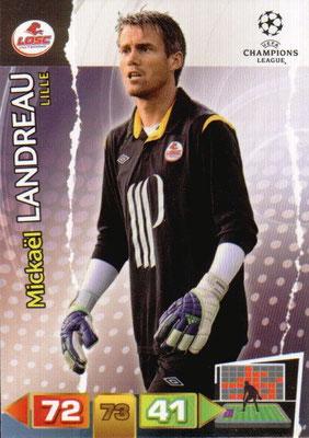 2011-12 - Panini Champions League Cards - N° 120 - Mickaël LANDREAU (Lille)