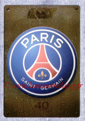 2015-16 - Panini Ligue 1 Stickers - N° 337 - Ecusson Paris Saint-Germain