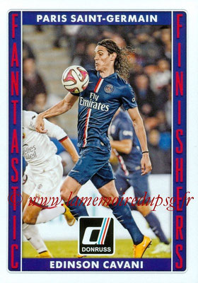 2015 - Panini Donruss Soccer - N° FF05 - Edinson CAVANI (Paris Saint-Germain) (Fantastic Finishers)