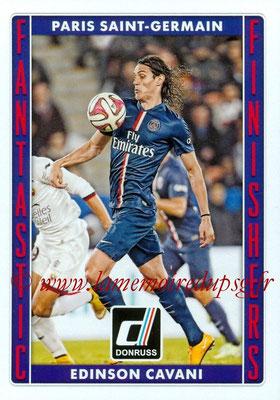 2015 - Panini Donruss Soccer - N° FF05 - Edinson CAVANI (Paris Saint-Germain) (Fantastic Finishers)
