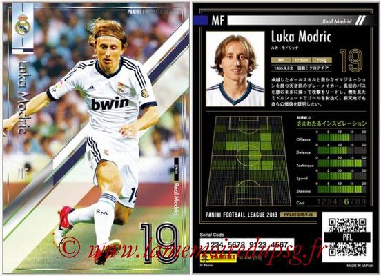 Panini Football League 2013 - PFL02 - N° 045 - Luka Modric ( Real Madrid )