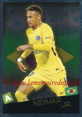 2017-18 - Panini Ligue 1 Stickers - N° 535 - NEYMAR Jr. (Paris Saint-Germain + Brésil) (Planète Ligue 1)