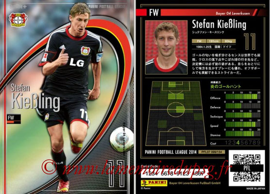Panini Football League 2014 - PFL07 - N° 099 - Stefan KIEBLING (Bayer Leverkusen) (Star +)