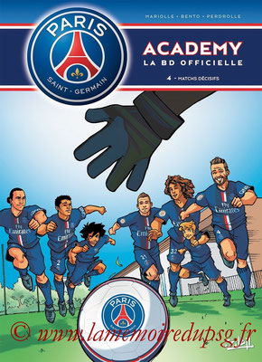 2014-09-24 - PSG Academy, Tome 4 (Soleil, 40 pages)