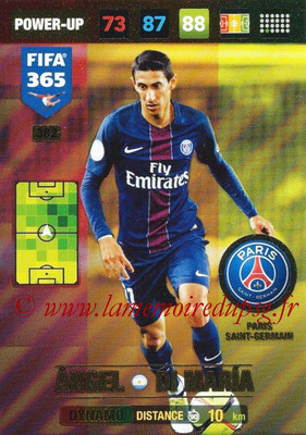 2016-17 - Panini Adrenalyn XL FIFA 365 - N° 382 - Angel DI MARIA (Paris Saint-Germain) (Dynamo)