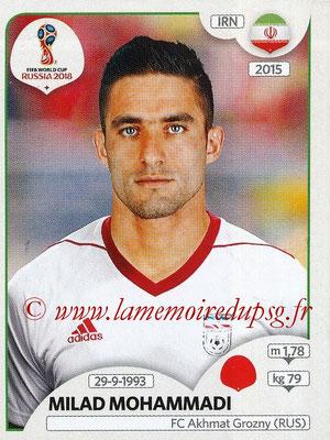 2018 - Panini FIFA World Cup Russia Stickers - N° 178 - Milad MOHAMMADI (Iran)