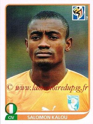 2010 - Panini FIFA World Cup South Africa Stickers - N° 541 - Salomon KALOU (Côte d'Ivoire)
