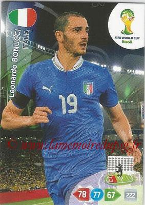 2014 - Panini FIFA World Cup Brazil Adrenalyn XL - N° 211 - Leonardo BONUCCI (Italie)
