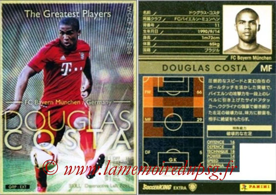 2015-16 - Panini WCCF - N° GRP-EXT6 - Douglas COSTA (FC Bayern Munich) (The Greatest Players) (Extra)