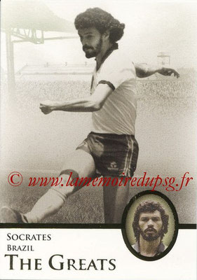 2013 - Futera World Football Unique - N° 116 - SOCRATES (Brésil) (The Greats)