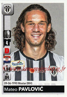 2018-19 - Panini Ligue 1 Stickers - N° 031 - Mateo PAVLOVIC (Angers)
