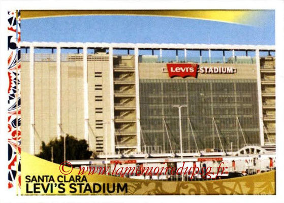 Panini Copa America Centenario USA 2016 Stickers - N° 009 - Levi's Stadium Santa Clara