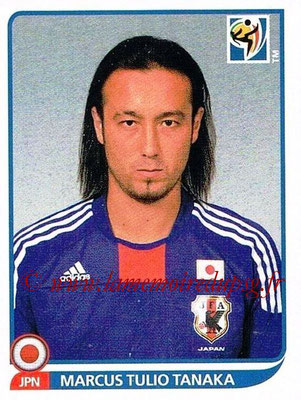 2010 - Panini FIFA World Cup South Africa Stickers - N° 377 - Marcus TULIO TANAKA (Japon)