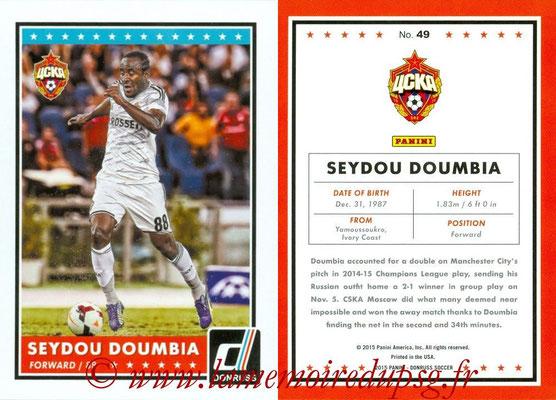 2015 - Panini Donruss Soccer - N° 049 - Seydou DOUMBIA (CSKA Moscou)