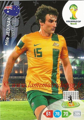 2014 - Panini FIFA World Cup Brazil Adrenalyn XL - N° 021 - Mile JEDINAK (Australie)
