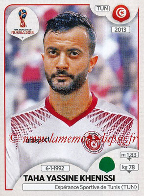 2018 - Panini FIFA World Cup Russia Stickers - N° 568 - Taha Yassine KHENISSE (Tunisie)