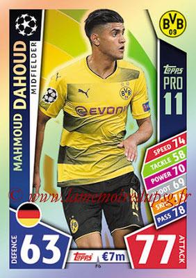 2017-18 - Topps UEFA Champions League Match Attax - N° P06 - Mahmoud DAHOUD (Borussia Dortmund) (Pro 11)
