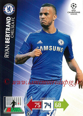 2012-13 - Adrenalyn XL champions League N° 089 - César AZPILICUETA (Chelsea FC)
