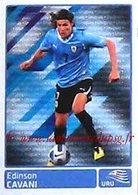 N° 334 - Edinson CAVANI (2011, Uruguay > 2013-??, PSG) (In action)
