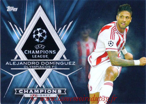 2015-16 - Topps UEFA Champions League Showcase Soccer - N° CP-AD - Alejandro DOMINGUEZ (Olympiacos FC) (Champions Pedigree)
